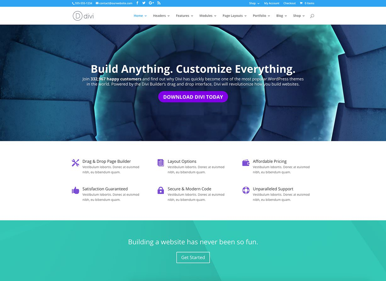 Divi Multiuse WordPress Theme