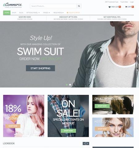 Премиум шаблон eCommerce