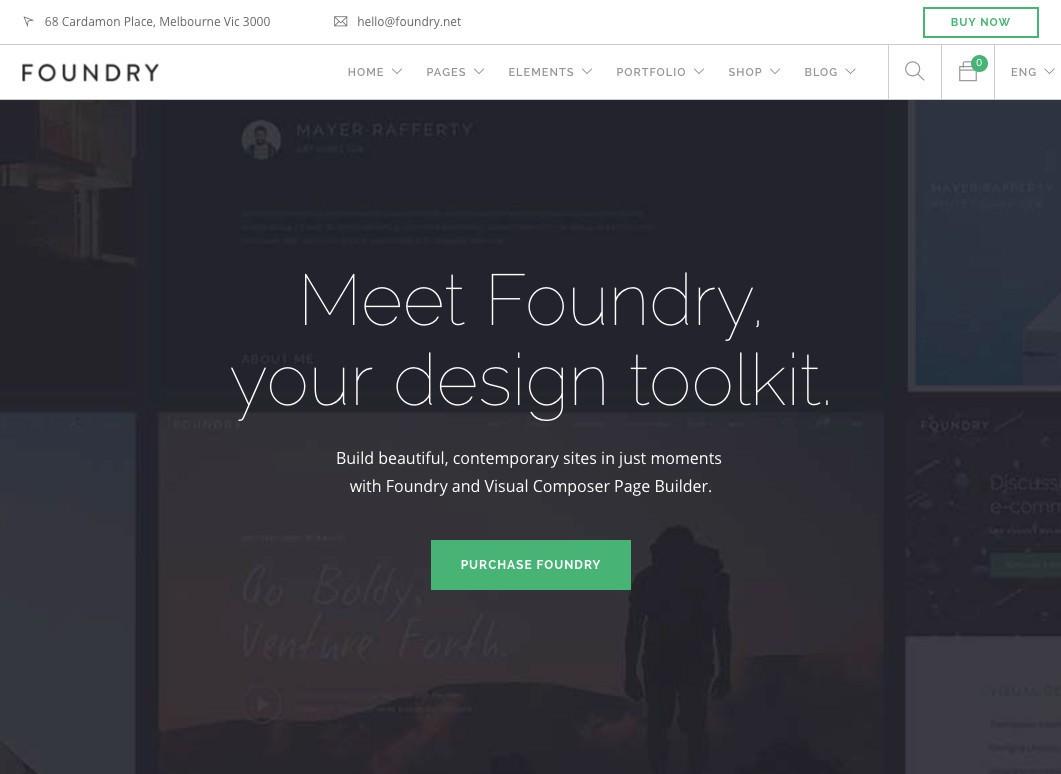 Литейный Многоцелевой Бизнес WordPress Theme