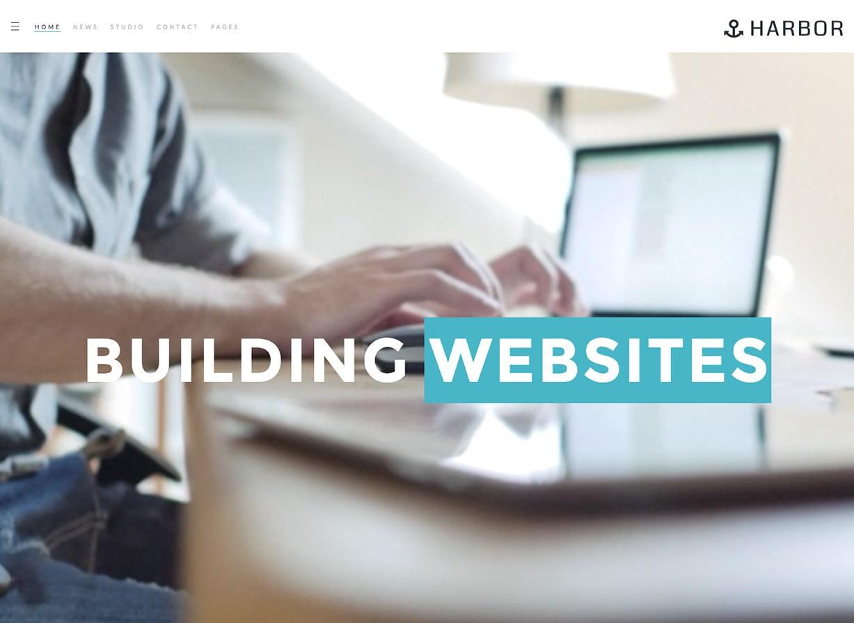 Портовый бизнес WordPress Theme