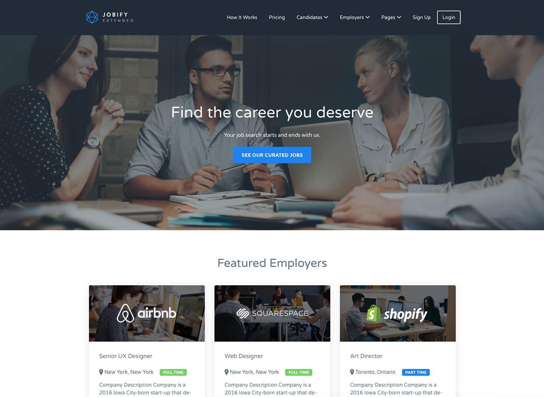 Jobify Business WordPress Theme