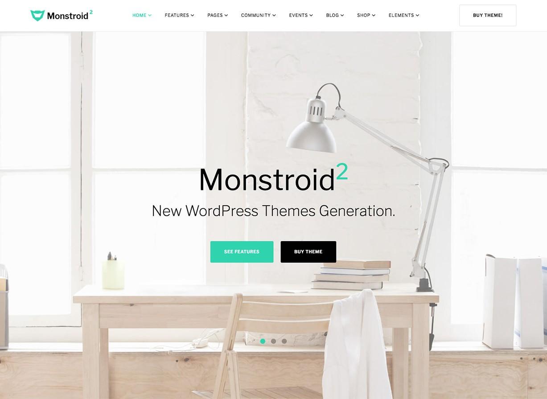Monstroid 2 Business WordPress Theme