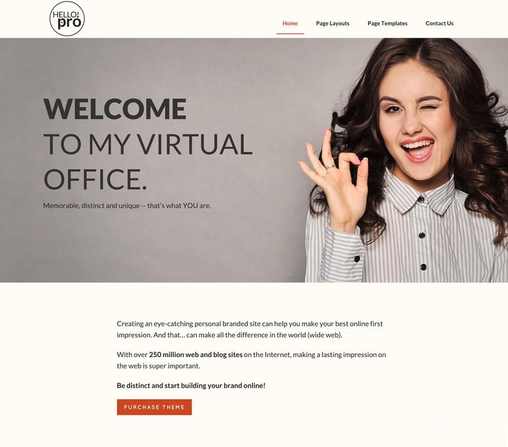 Топ 10 Шаблонов WordPress для виртуального и персонального ассистента