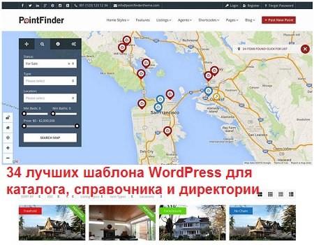 Лучшие шаблоны WordPress для каталога и справочника 2020