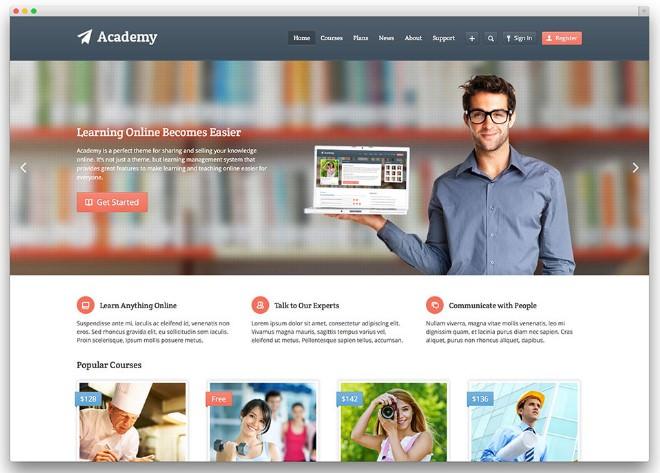 Шаблон Academy