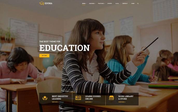 Шаблон Education WP