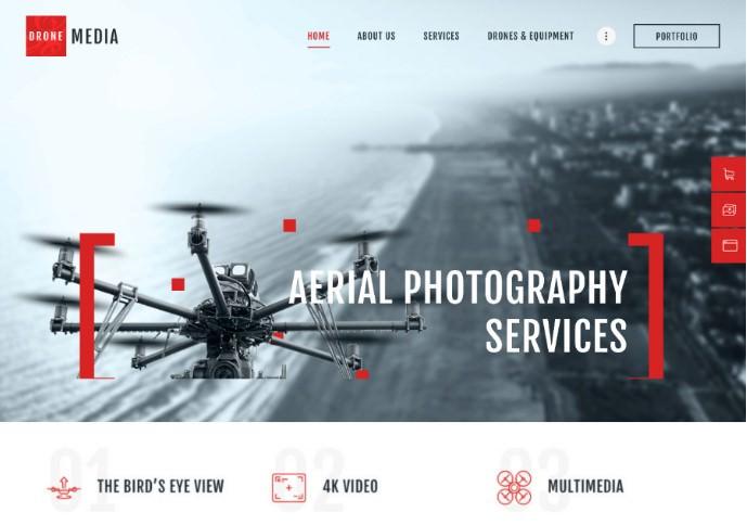12 шаблонов WordPress для сайта о фотографии и портфолио фотографа 2020