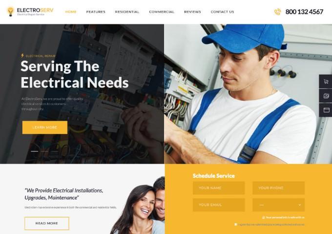 20 шаблонов WordPress на тему ремонта 2020