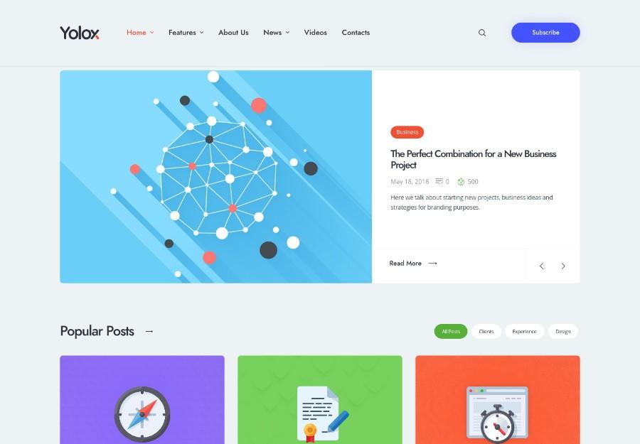 20 Лучших шаблонов WordPress на Elementor 2020
