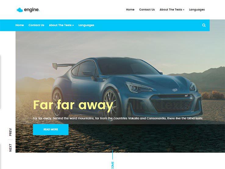 12 бесплатных автомобильных тем WordPress для дилерского центра, автосервиса и буксирной компании 2020