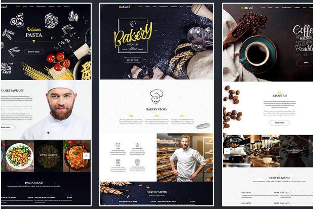GoResto - WordPress тема Доставка еды
