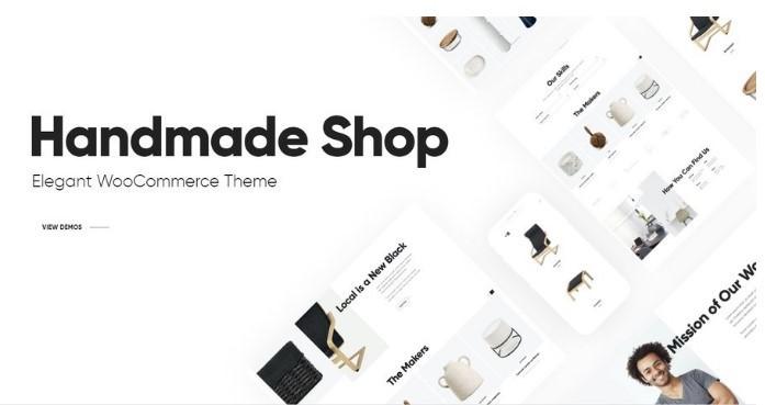 Iona   WordPress шаблон для магазина изделий ручной работы