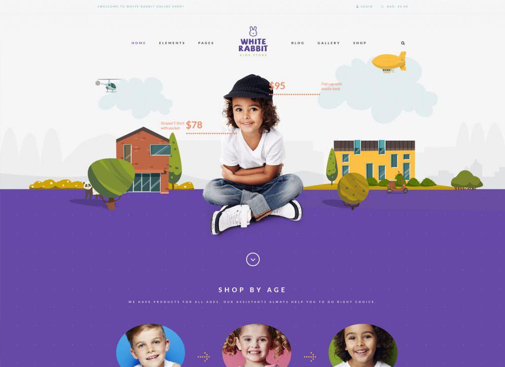 White Rabbit - Магазин детских игрушек и детской одежды