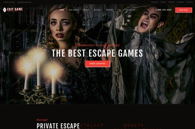 Exit Game | WordPress для квест-комнаты