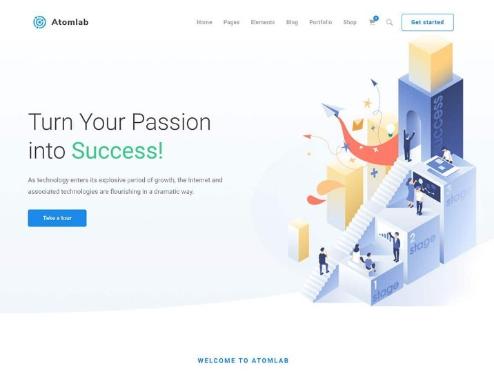 16 лучших тем WordPress для стартапов 2020