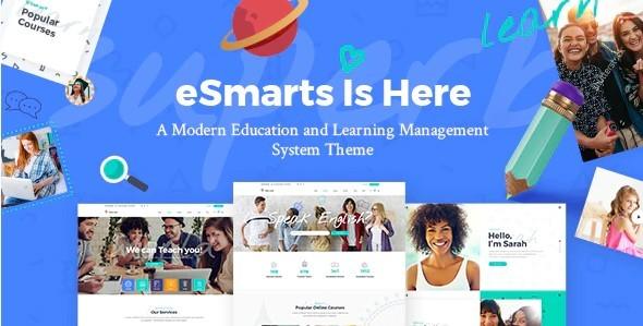 eSmarts тема для сайта школы