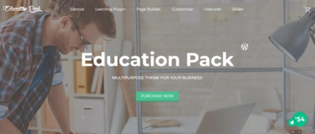 Education Pack тема для сайта университета
