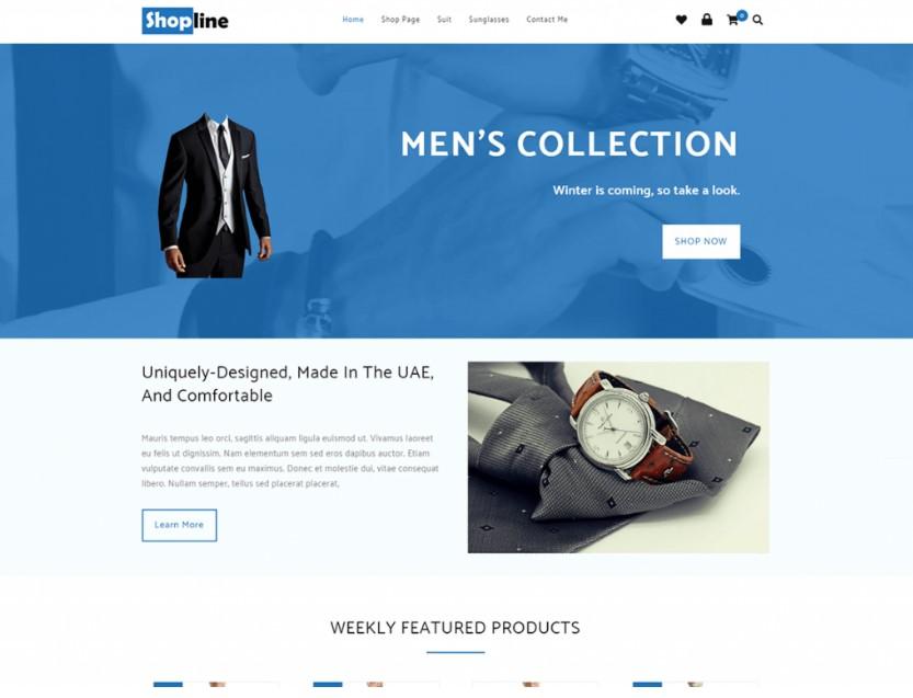 Shopline тема для интернет магазига