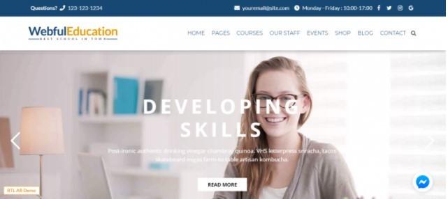 EduBox тема для онлайн школы
