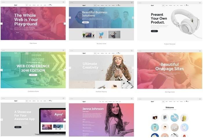 Arlo шаблон WordPress для стартапа