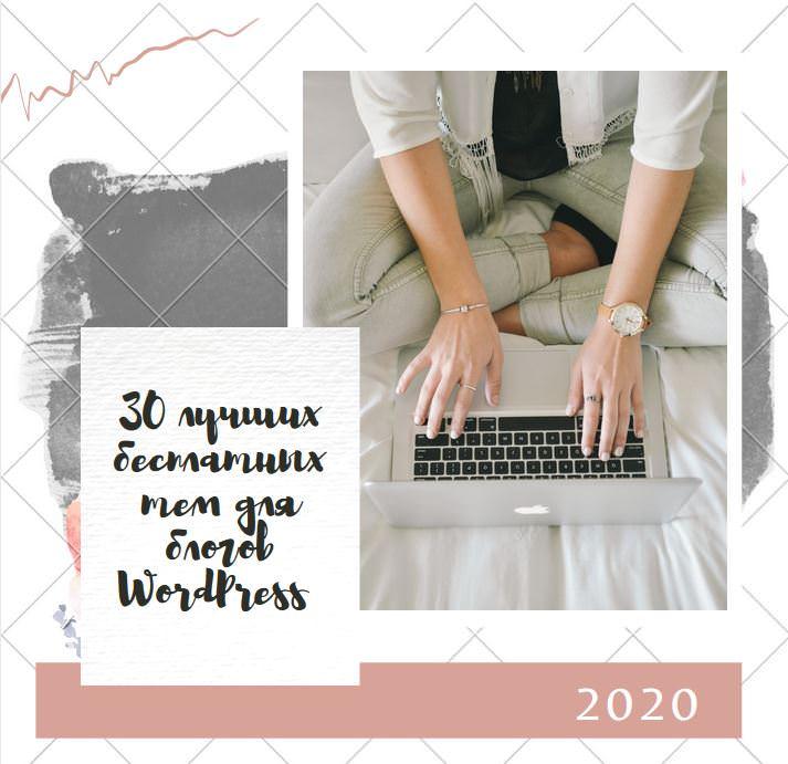 Лучшие бесплатные шаблоны для блогов на WordPress 2020