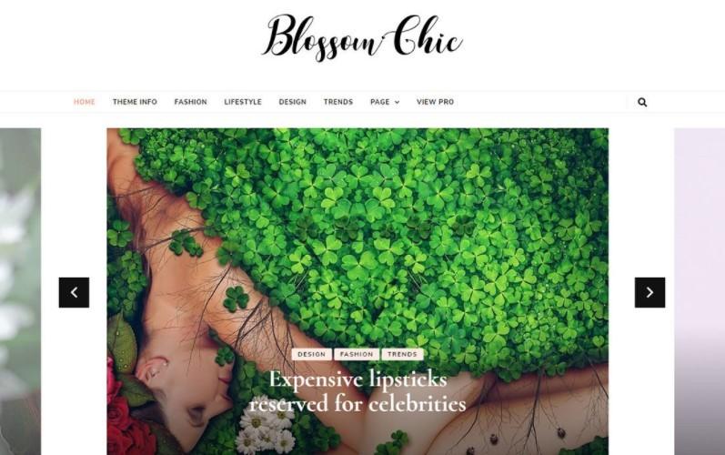 Blossom Chic тема для женского блога