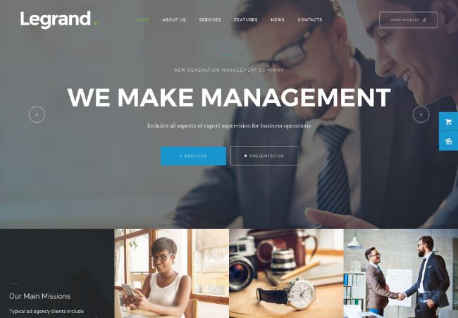 LeGrand |  A modern multipurpose corporate WordPress theme