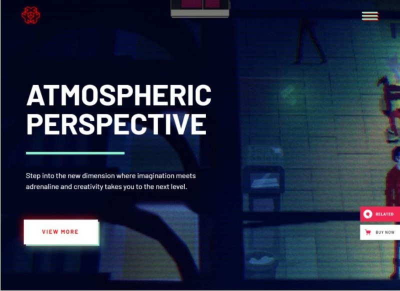 Entropia тема для сайта киберспорта