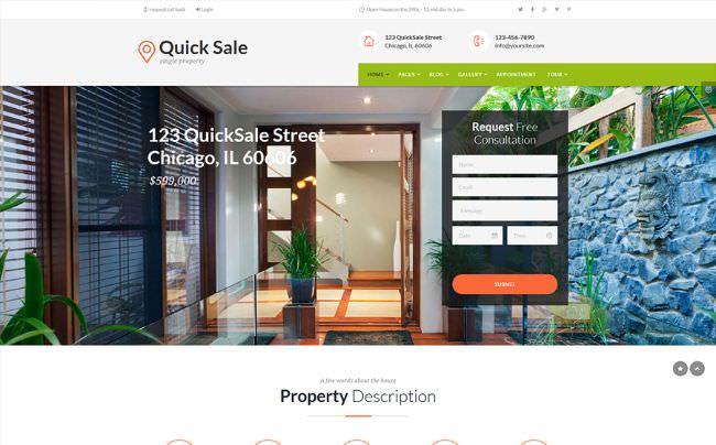 15 Лучших шаблонов WordPress на тему строительства и недвижимости 2020