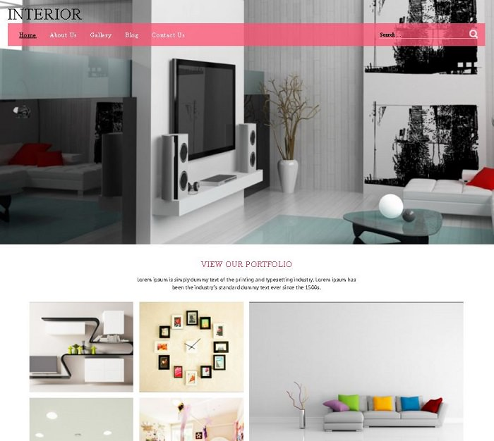 Красочный, привлекательный, отзывчивый шаблон WordPress