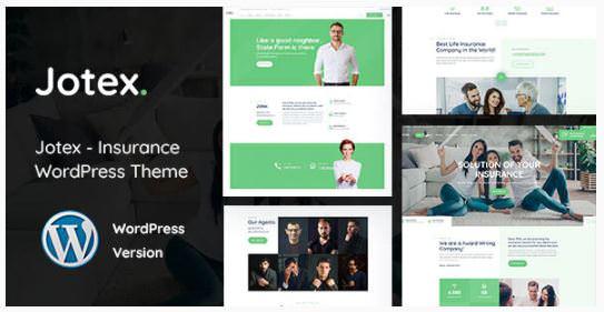 Jotex - WordPress тема по страхованию