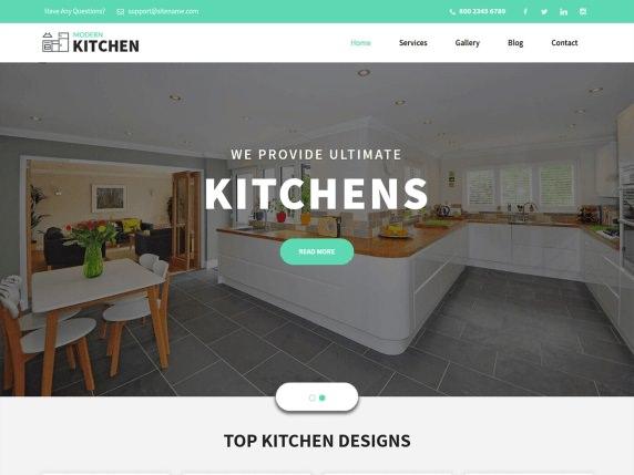 Шаблон Kitchen Design