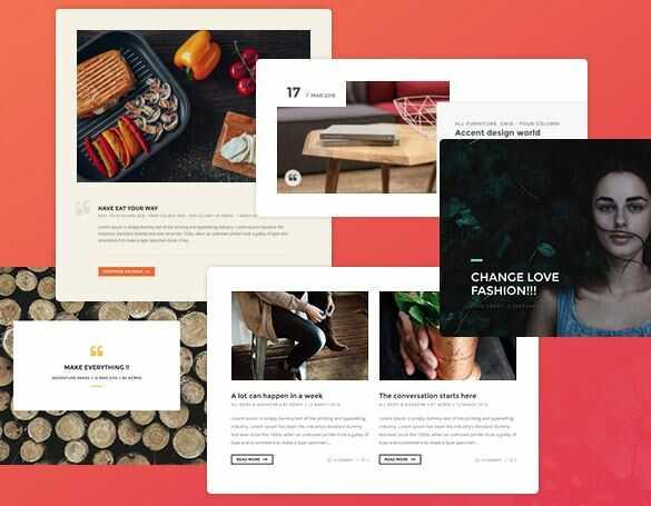 Paperio - адаптивная и многоцелевая тема для блога WordPress 2020