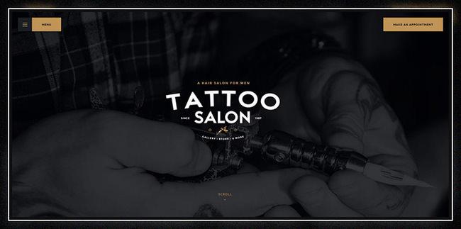 Салон | Тема WordPress для парикмахерских и тату
