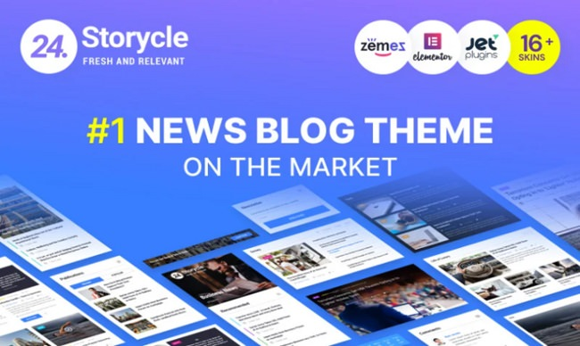 24.Storycle - Multipurpose News Portal Elementor
