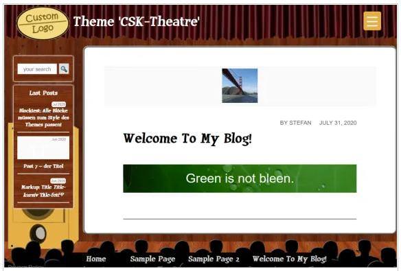 Seeatre - это бесплатная тема WordPRess в стиле кинотеатра