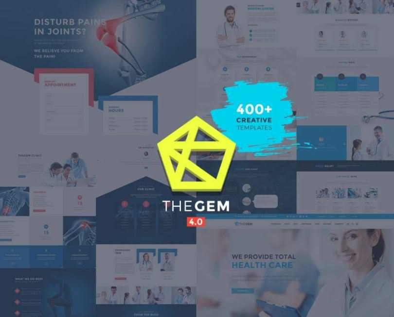 Скриншот темы TheGem