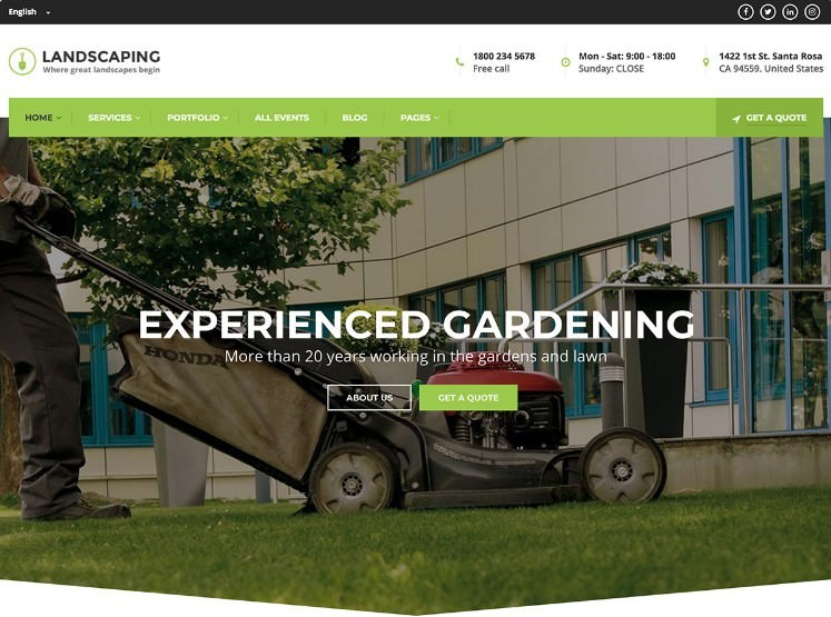 Landscaping WP