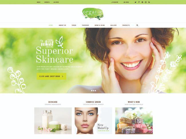 Organic Beauty Store & Natural Cosmetics