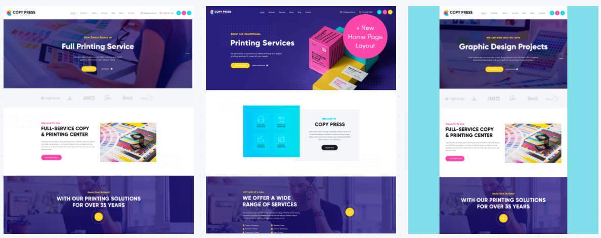 CopyPress | Типовой дизайн и полиграфические услуги