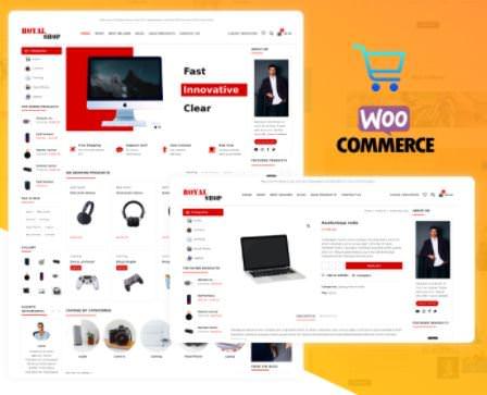 Royal Shop русская бесплатная тема для интернет магазина 2021